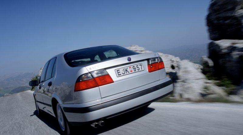 El joven salvaje deportivo - Saab 9-5 en la prueba secreta