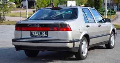 Une Saab 9000 CSE vendue aux enchères pour un prix record