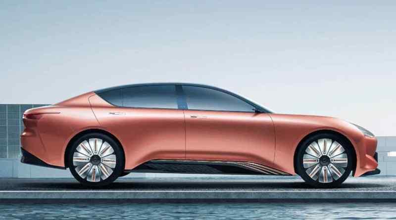 O Hengchi 1 da Evergrande Auto começa em 2021