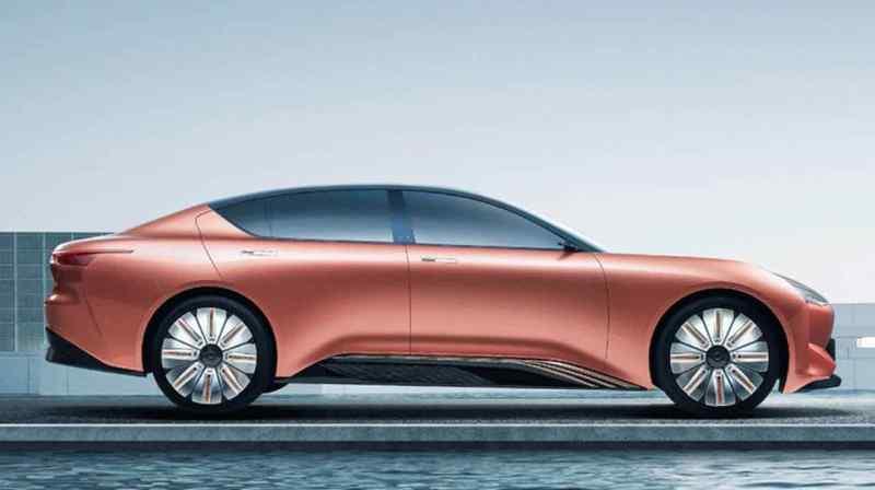 Hengchi 1 von Evergrande Auto startet 2021