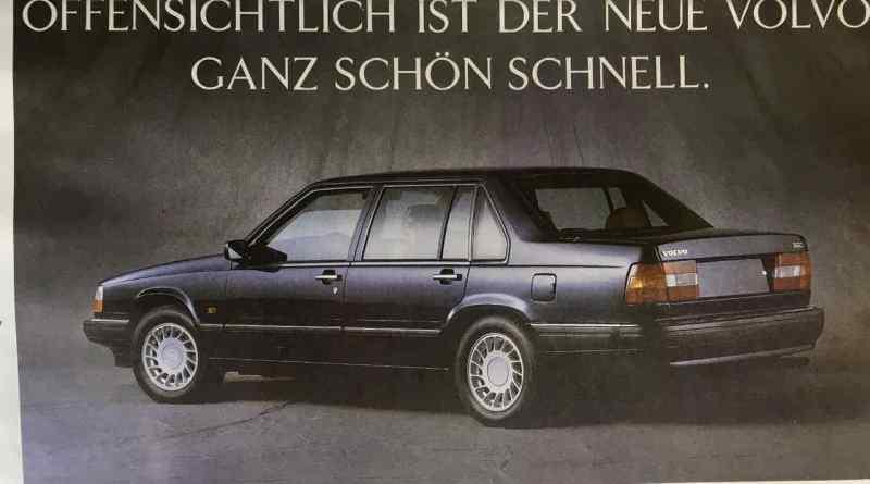 Als Saab Fahrer Werbetexter bei Volvo