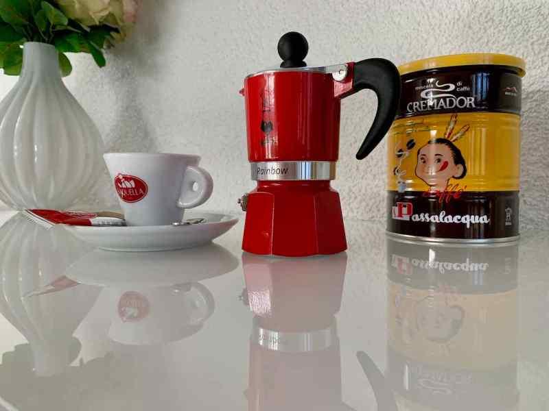 Sehr archaisch - Kaffeekocher von Bialetti