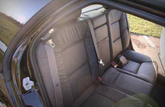 Rücksitze - hat dort schon wer gesessen?
