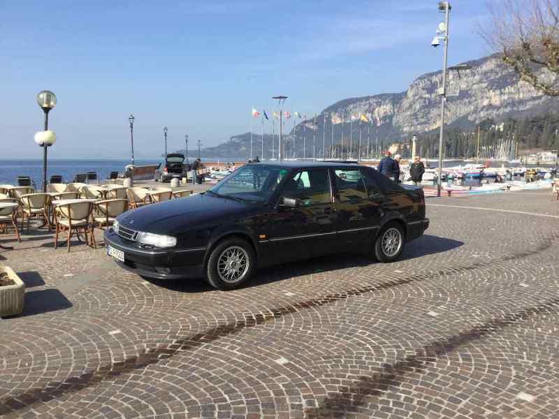 20. Geburtstag auf der Promenade von Garda
