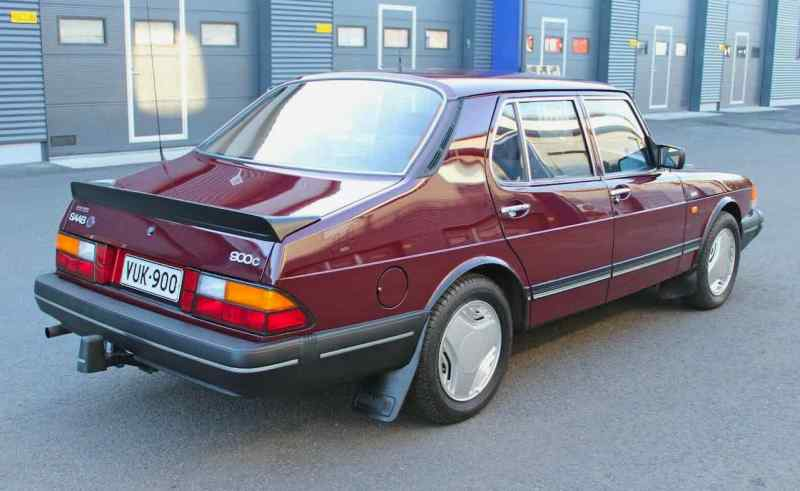 Saab 900c 1989