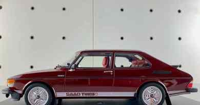 Una sorpresa: Saab 99 Turbo de DNA Collectibles