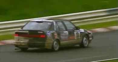 Saab 9000 CS 2.3 1995 op de Nürburgring