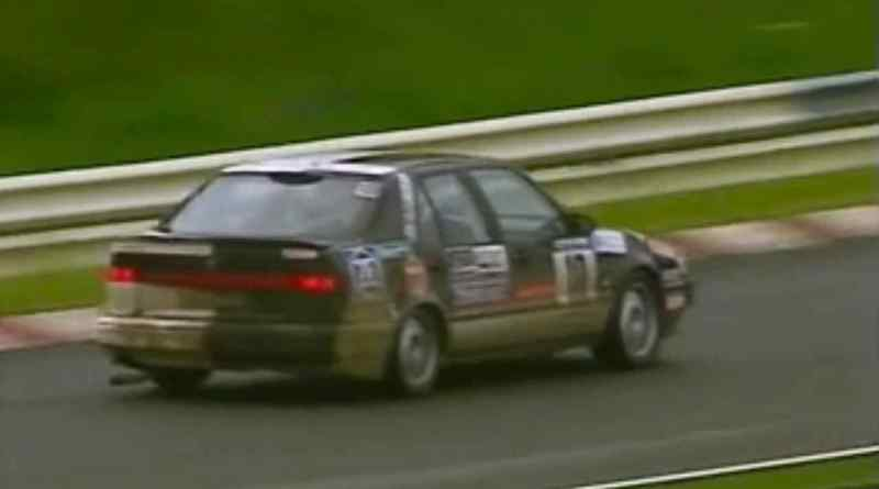 Saab 9000 CS 2.3 1995 auf dem Nürburgring