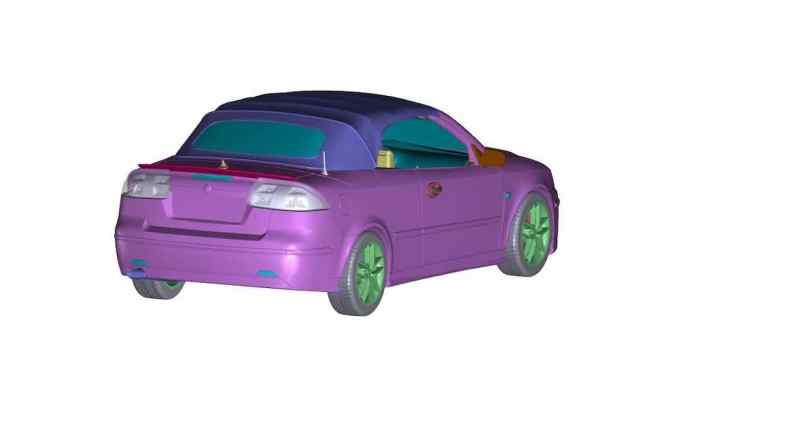 DNA Collectibles bringt den offenen Saab in 3 Farben