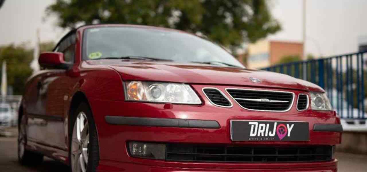 Red & Hot - ein Saab Cabriolet