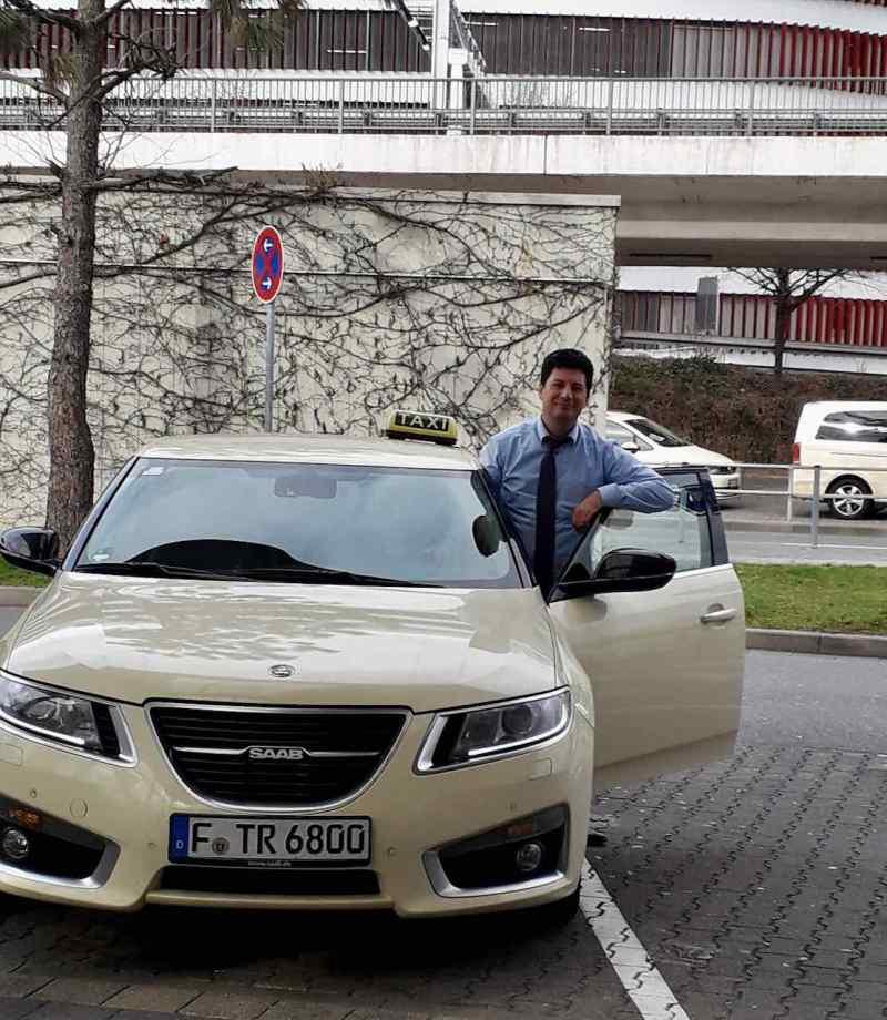 Unikt - Saab 9-5 NG-taxi