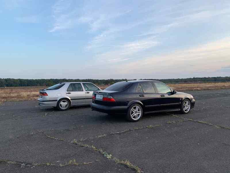 Saab 9000 vs. Saab 9-5 Aero