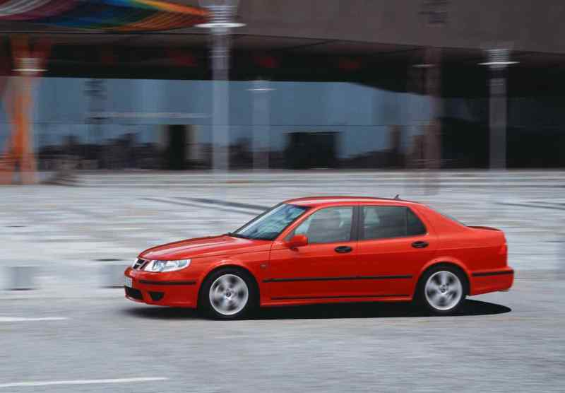 Saab 9-5 aus Spanien