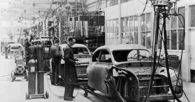 Исторически - производство Saab 92 в Тролльхеттане