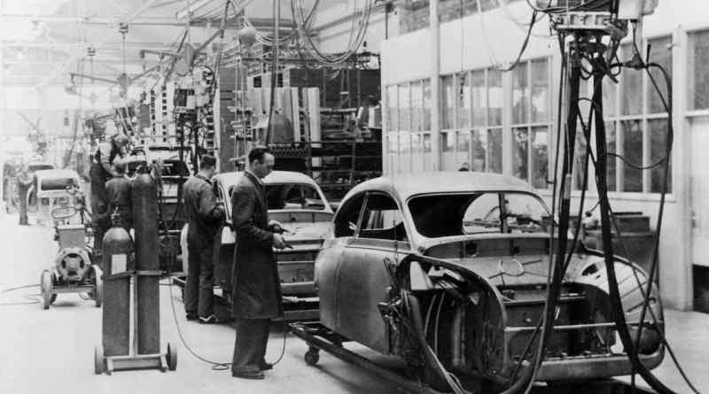 Historisch - Saab 92 Produktion in Trollhättan