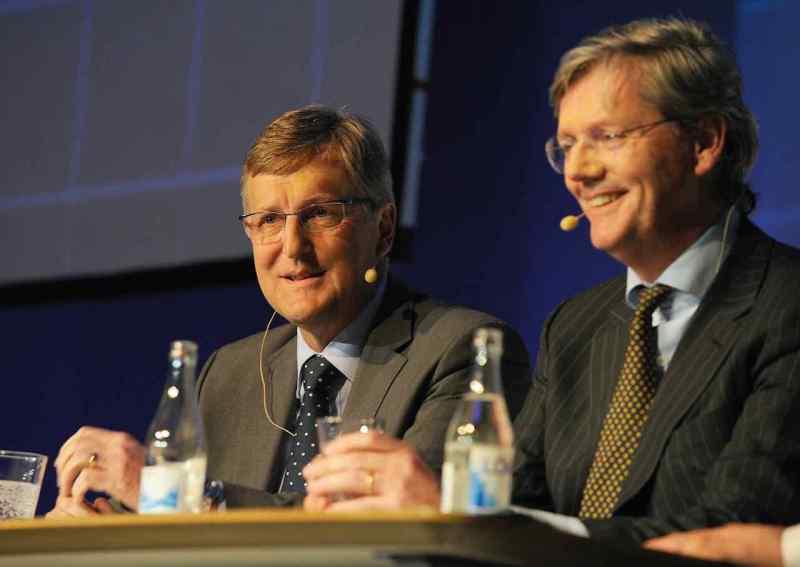 Jan Åke Jonsson e Victor Muller