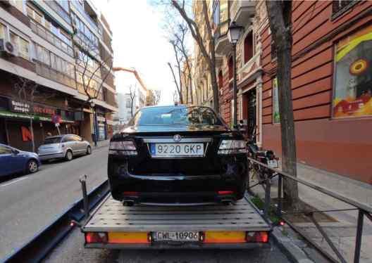 La Saab va in Germania: un lungo viaggio