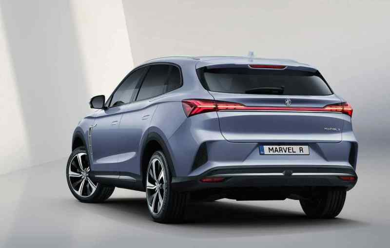 Marvel R - spannendes MG E-SUV