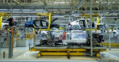 Volvo Produktion Daqing