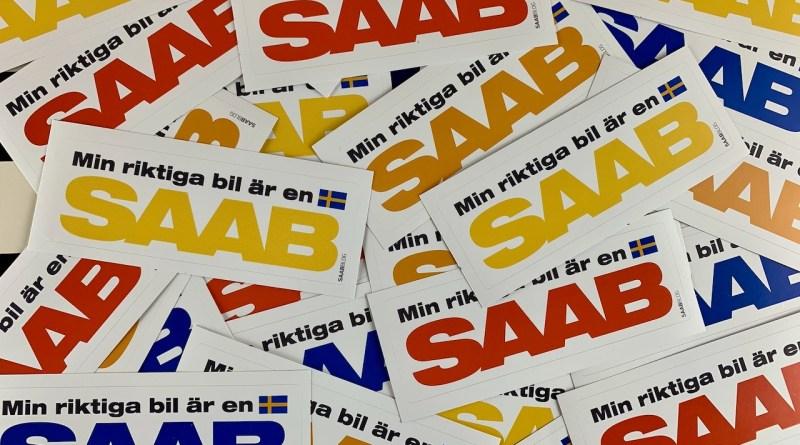 Min riktiga bil är en Saab - наклейки уже в пути