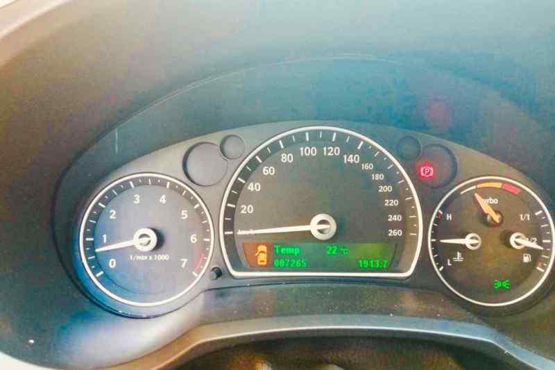 Ein wilder Saab TX