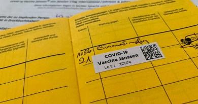 Vacinado com Johnson & Johnson
