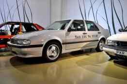 Den senaste Saab 9000 som producerades