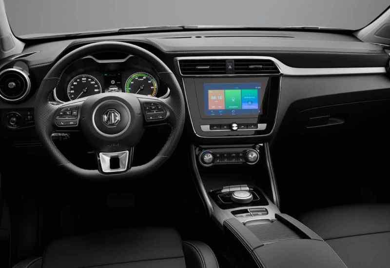 Sencillo, ordenado, sólido. Interior del MG ZS.