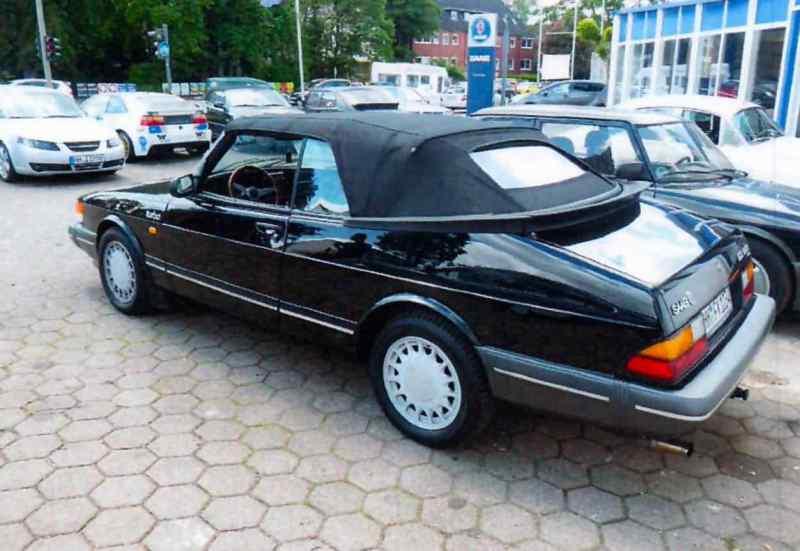 Questa Saab è stata rubata ad Amburgo