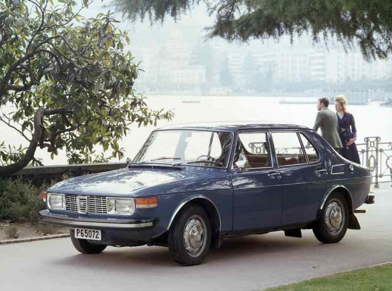 Saab 99 - au début avec les moteurs Triumph