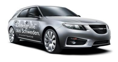 Saab für die IAA - Designentwurf von Wolfgang Gilde