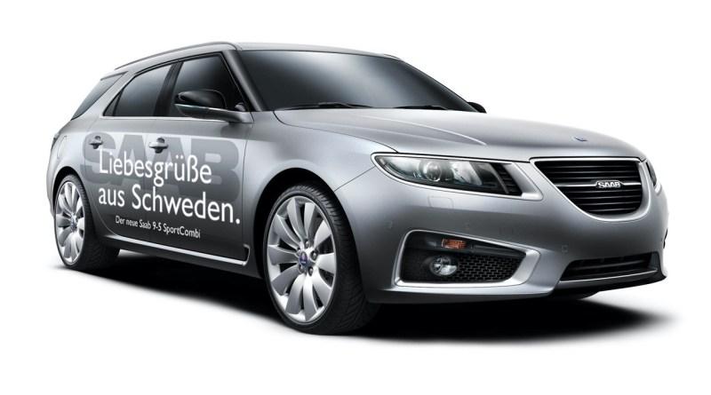 Saab для IAA - эскизный проект Вольфганга Гильде