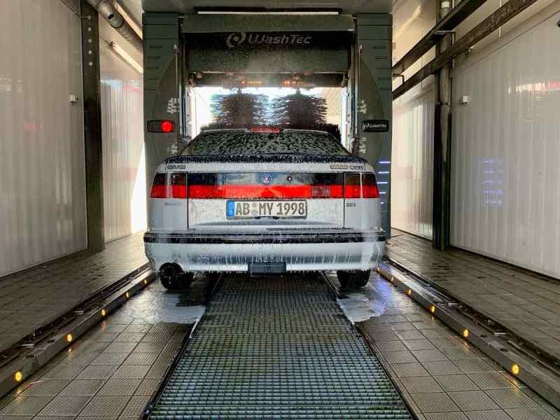Saab 9000 im Alltagsbetrieb
