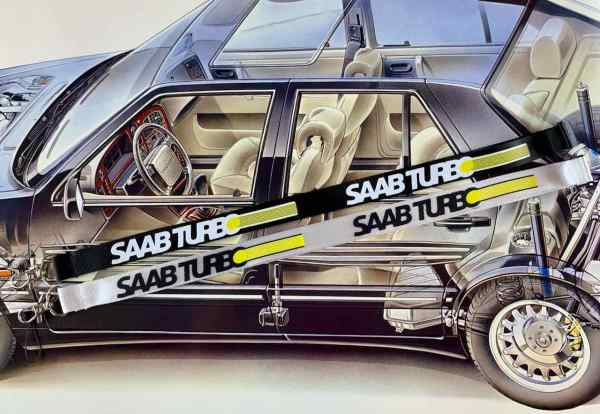 Saab Turbo snodd
