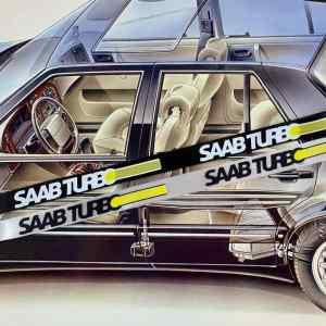 Saab Turbo Sleutelkoord