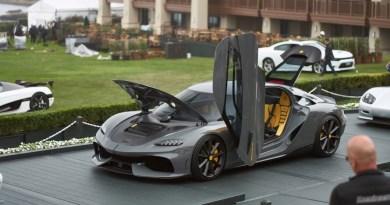 Koenigsegg Gemera - Неделя автомобилей в Монтерее