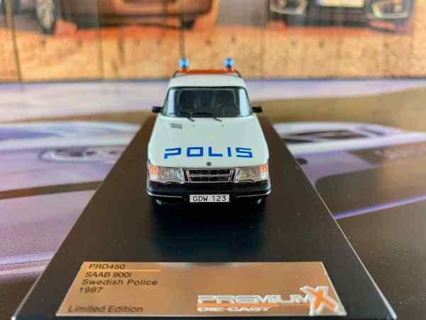 Saab 900i Polis 1987
