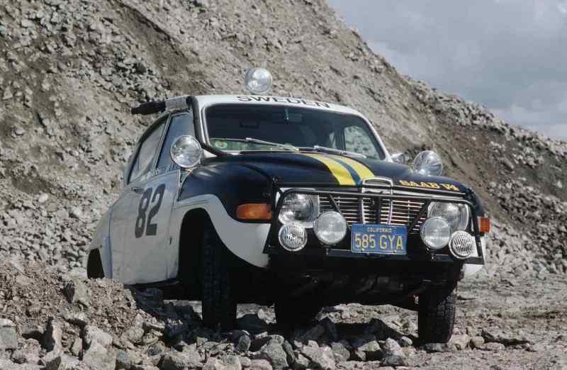 Saab 96 em ação