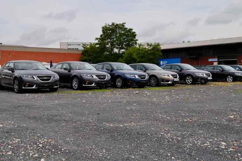 Passado - Estacionamento Saab Germany 2011
