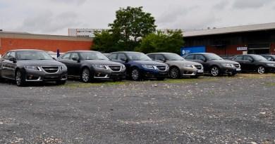Past - Saab Germany parking lot 2011