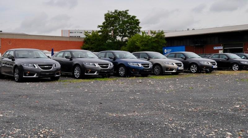 Pasado - Aparcamiento de Saab Alemania 2011