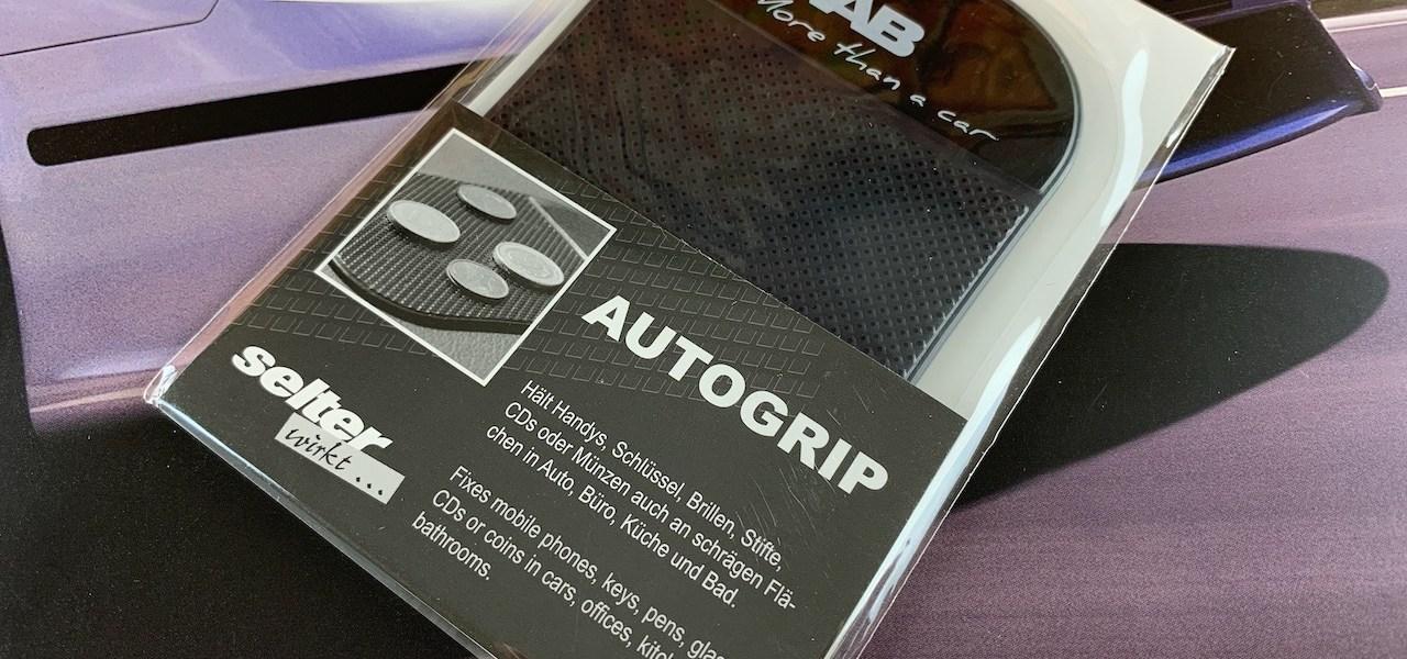 Saab - Más que un coche - Alfombrilla adhesiva Autogrip
