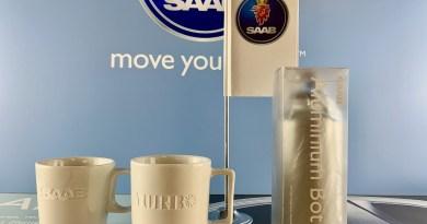 Saab flag - turbo cups and so on