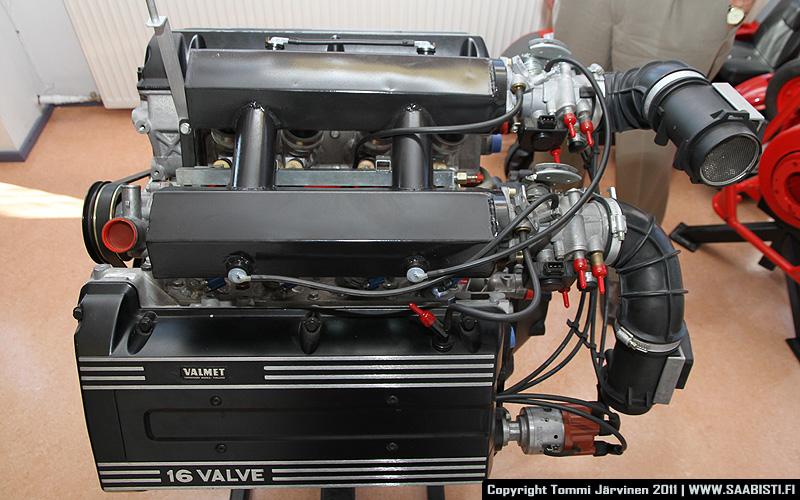 Saab V8 side view