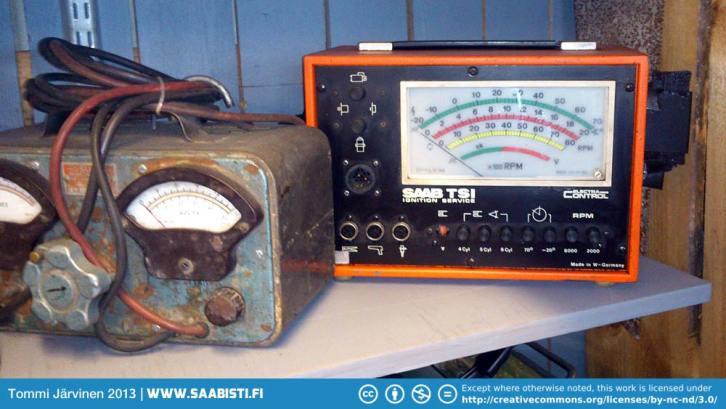 An original Saab TSI-tester.