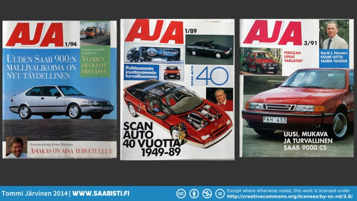 1994 was the last year the AJA-magazine was published. Only one issue that year.