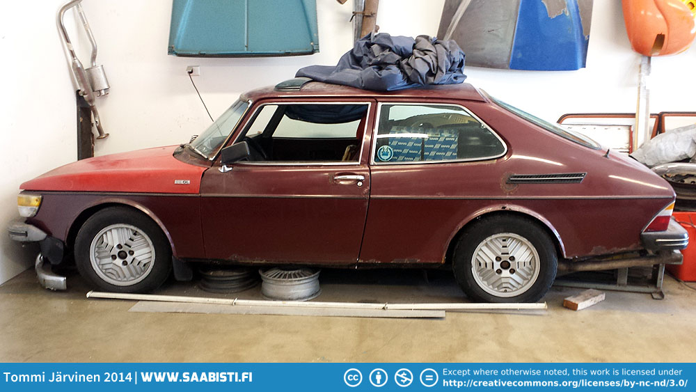 1978 Saab 99 Turbo – deciding what to do