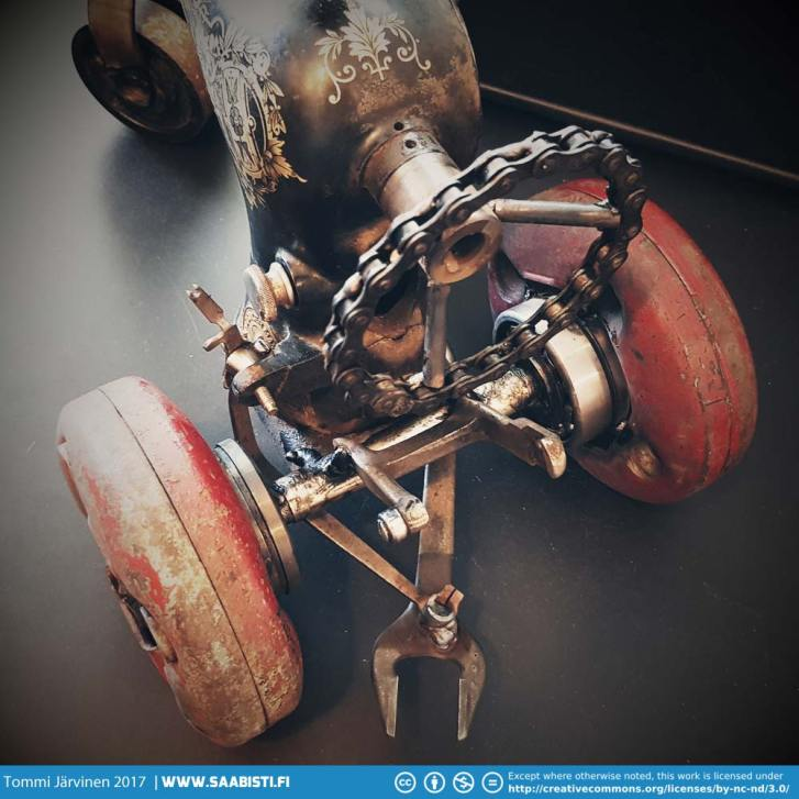 Singer Sewing Machine Tractor