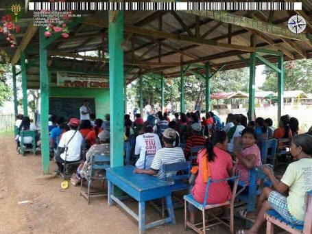 Values Orientation Workshop in Sitio Miasong