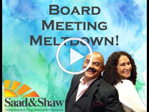 Board Meeting Meltdown